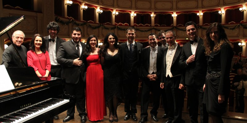 GREAT MASTERS AND YOUNG TALENTS IN CONCERT